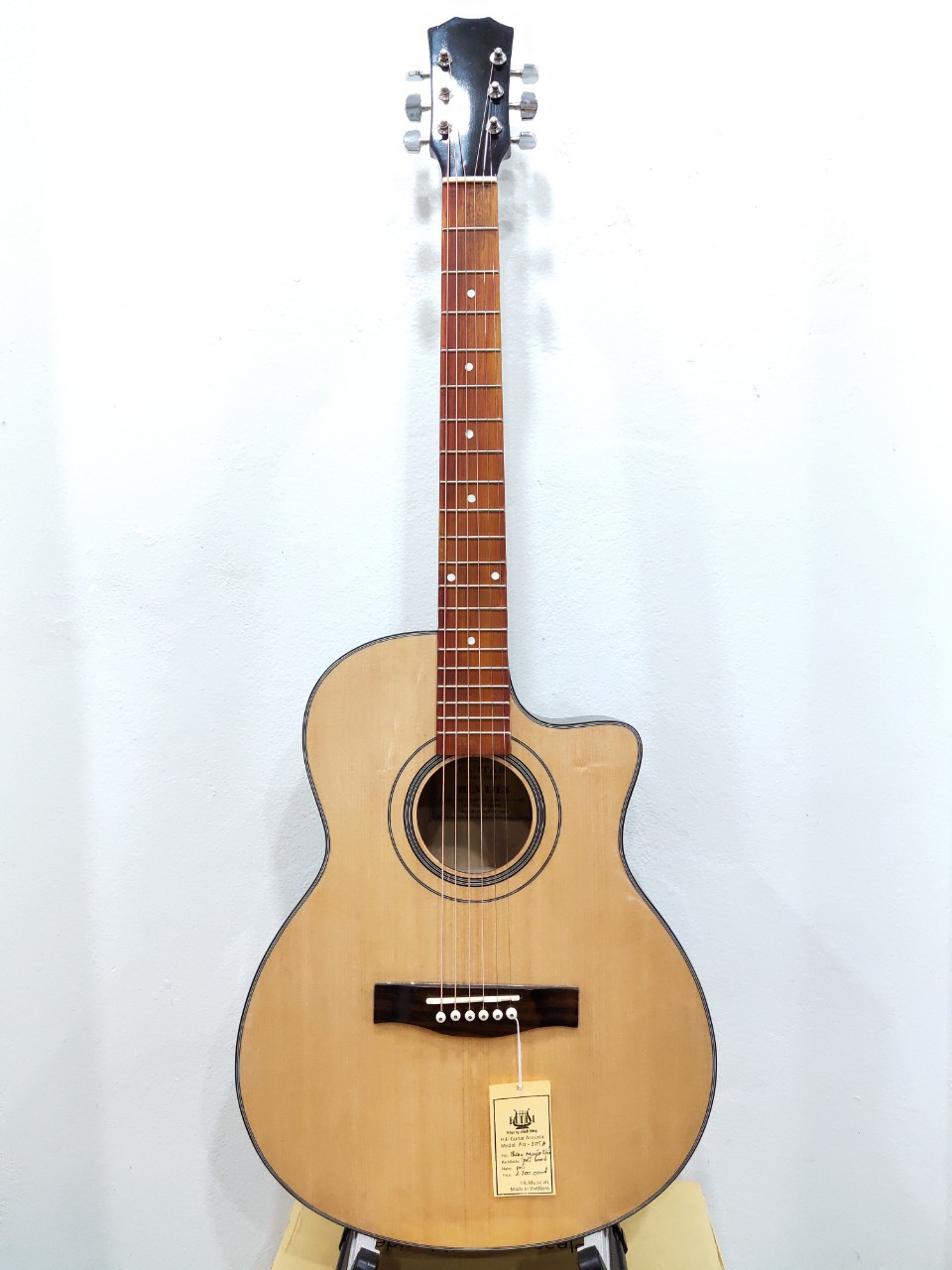Đàn Guitar Acoustic AG-205A - made in VietNam