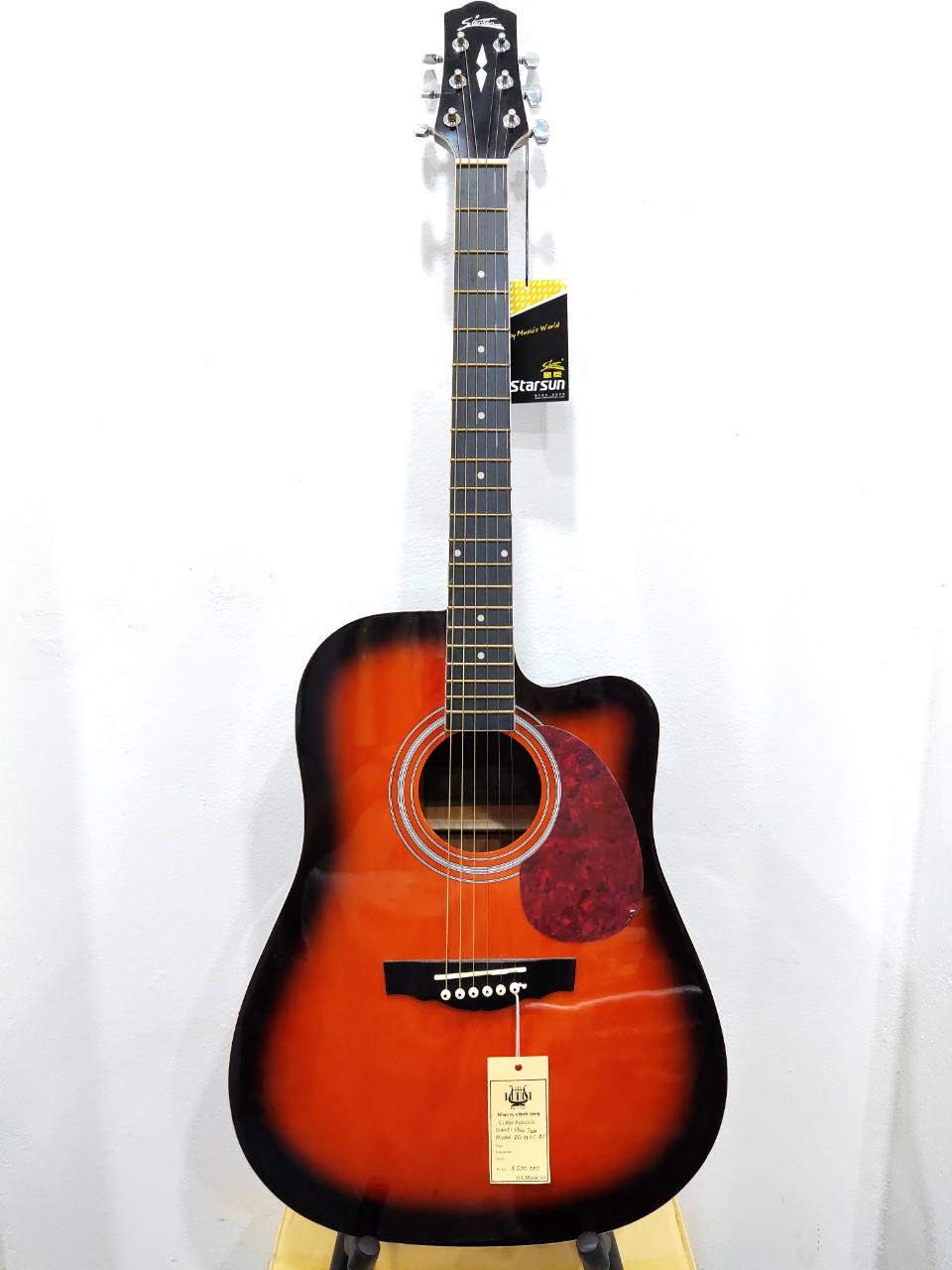 Đàn Guitar Acoustic StarSun DG120CBS