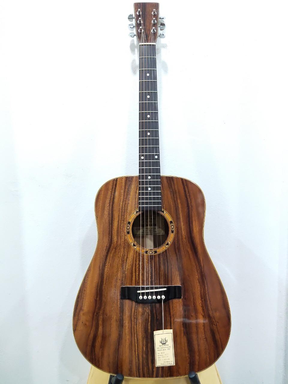 Đàn Guitar Acoustic AG-390A Full Điệp Made in VietNam