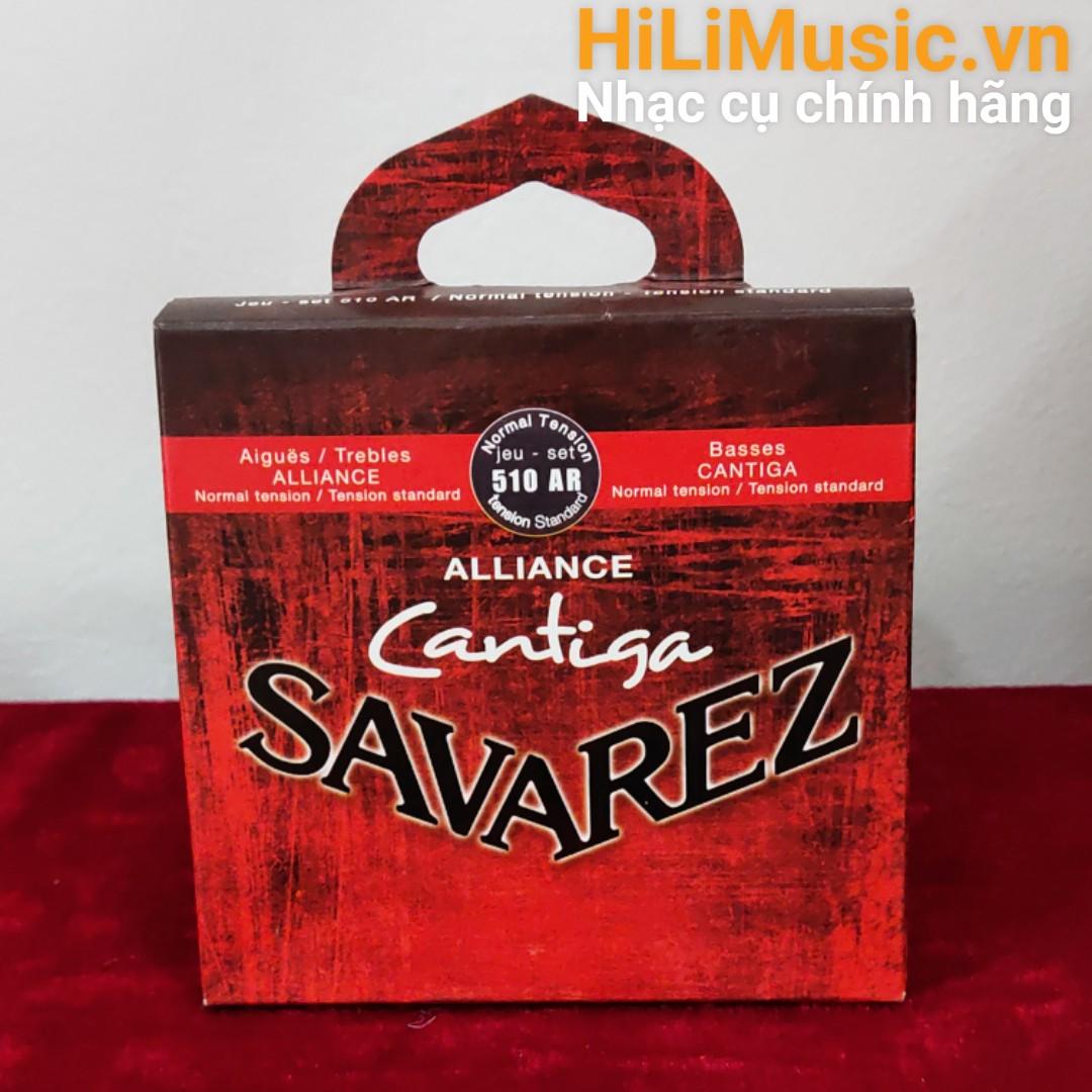 Dây Guitar Classic SAVAREZ 510 AR Normal Tension