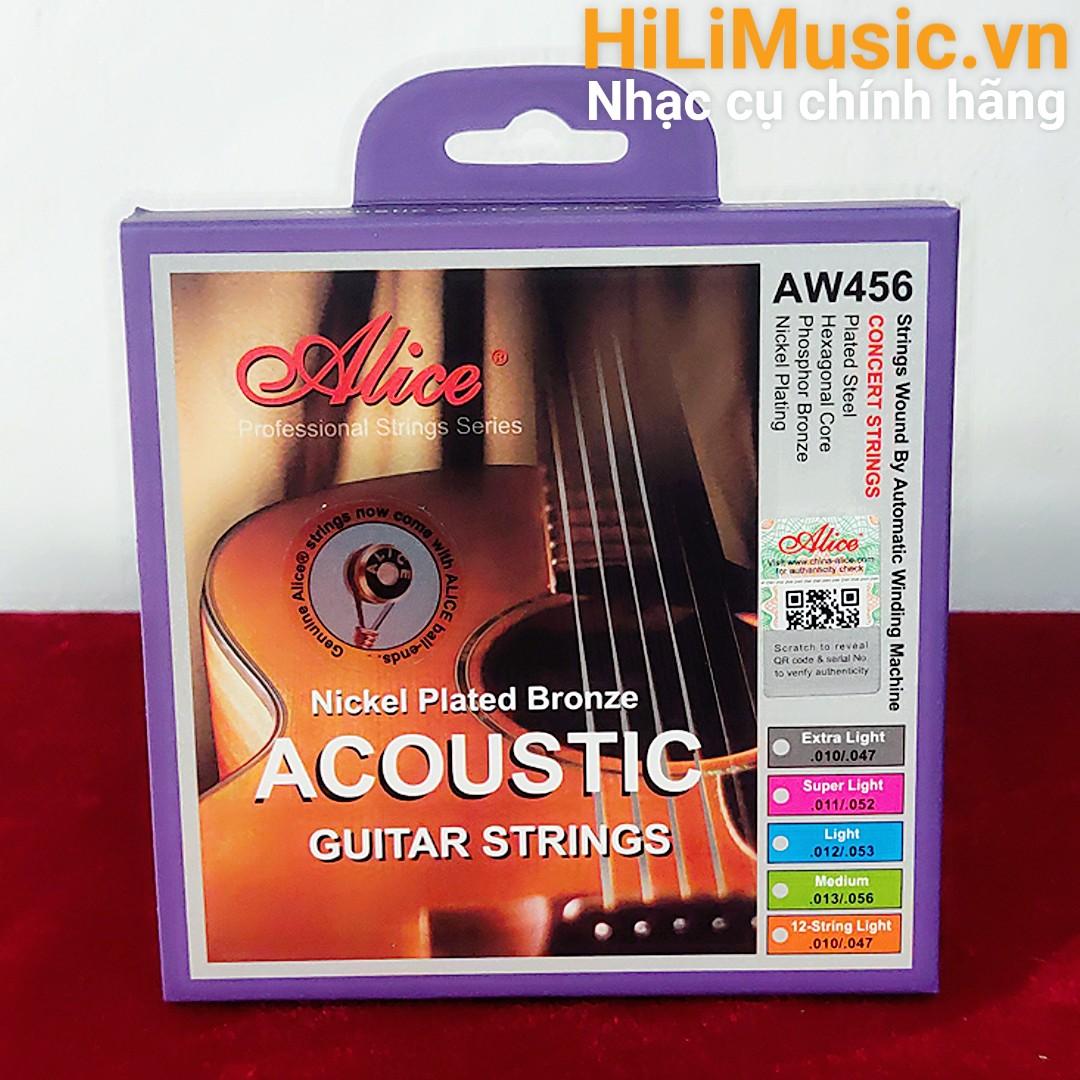 Dây Guitar Acoustic Alice A456 Nikel
