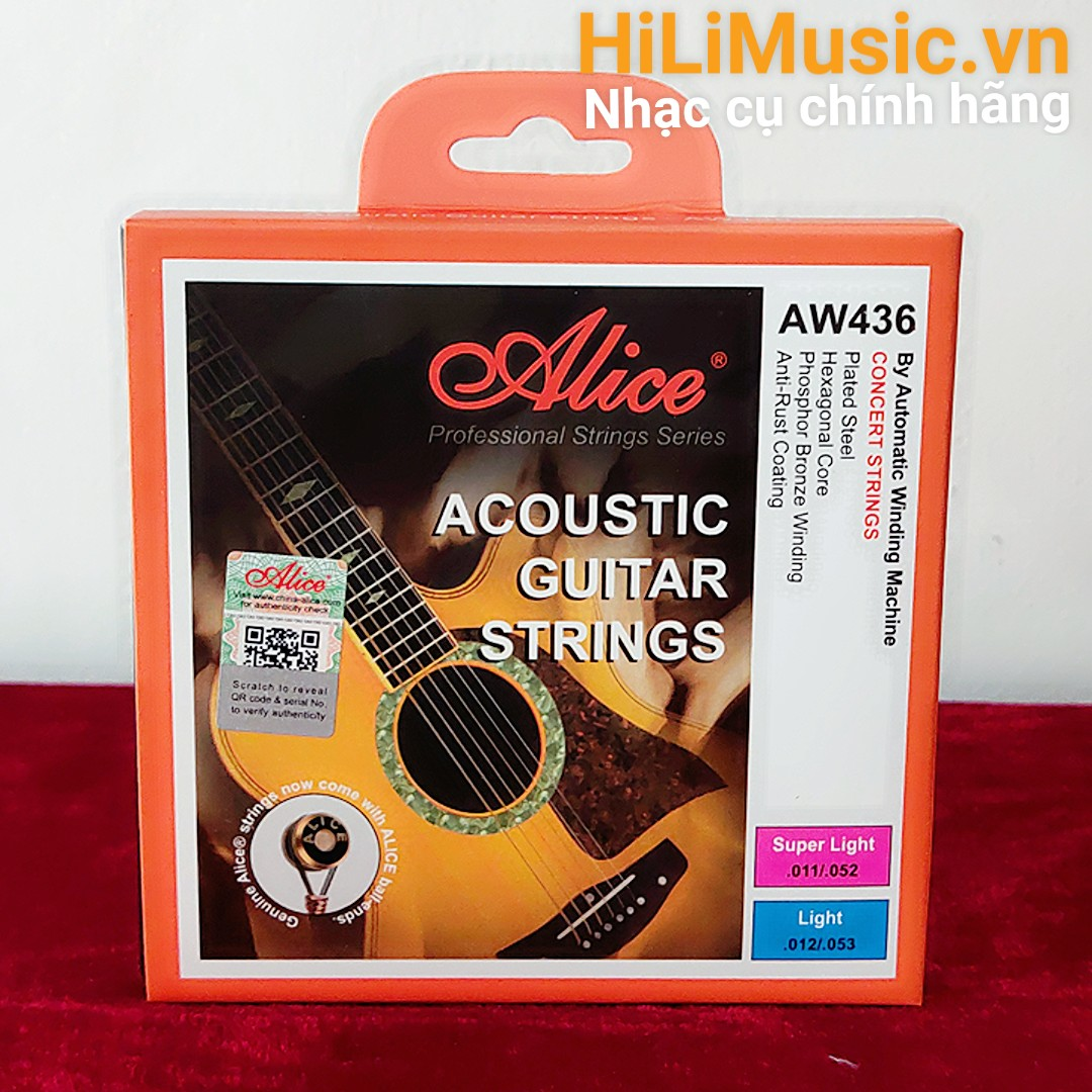 Dây Guitar Acoustic Alice A436