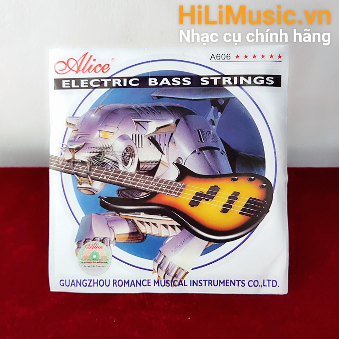 Dây Guitar Bass Alice A606