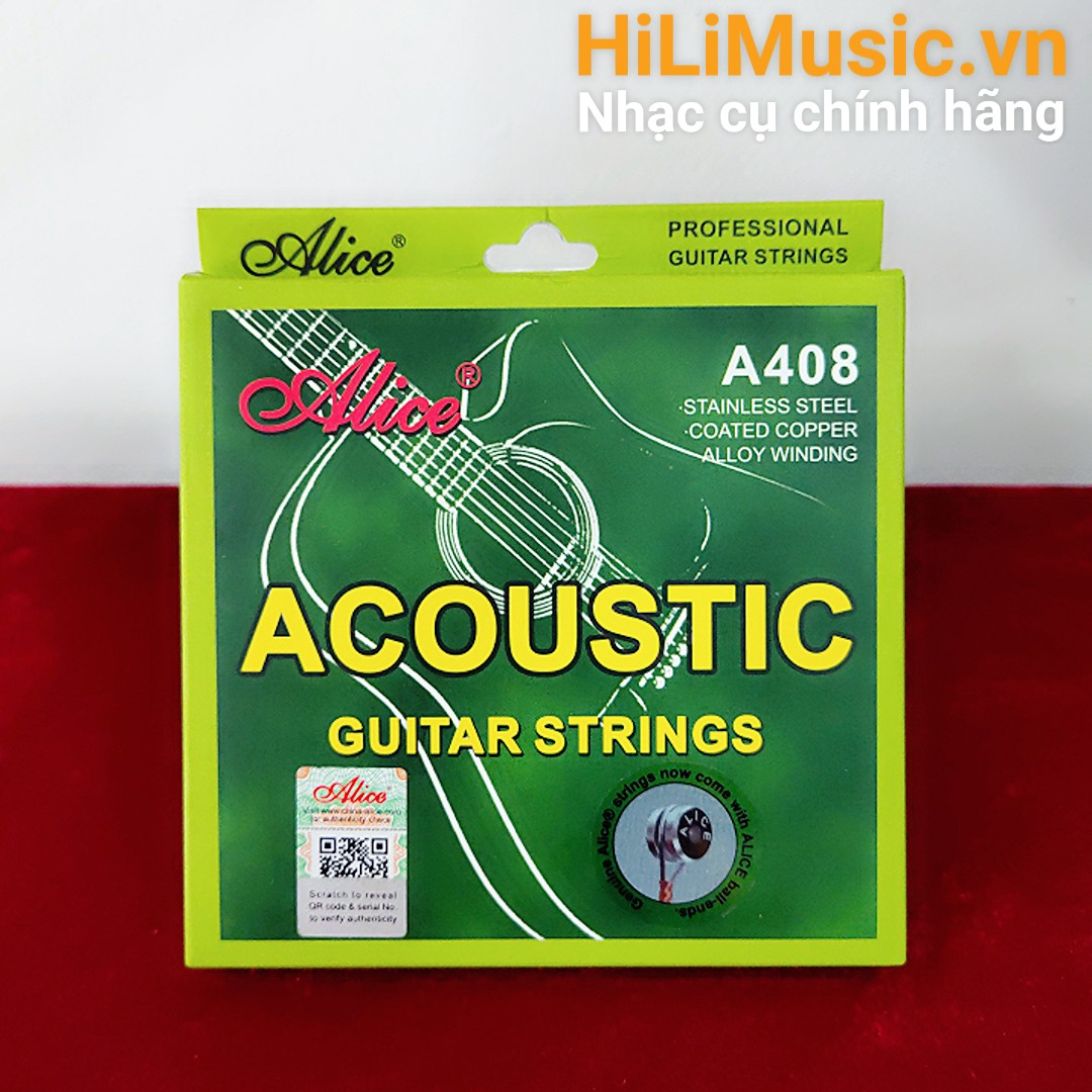Dây Guitar Acoustic Alice A408
