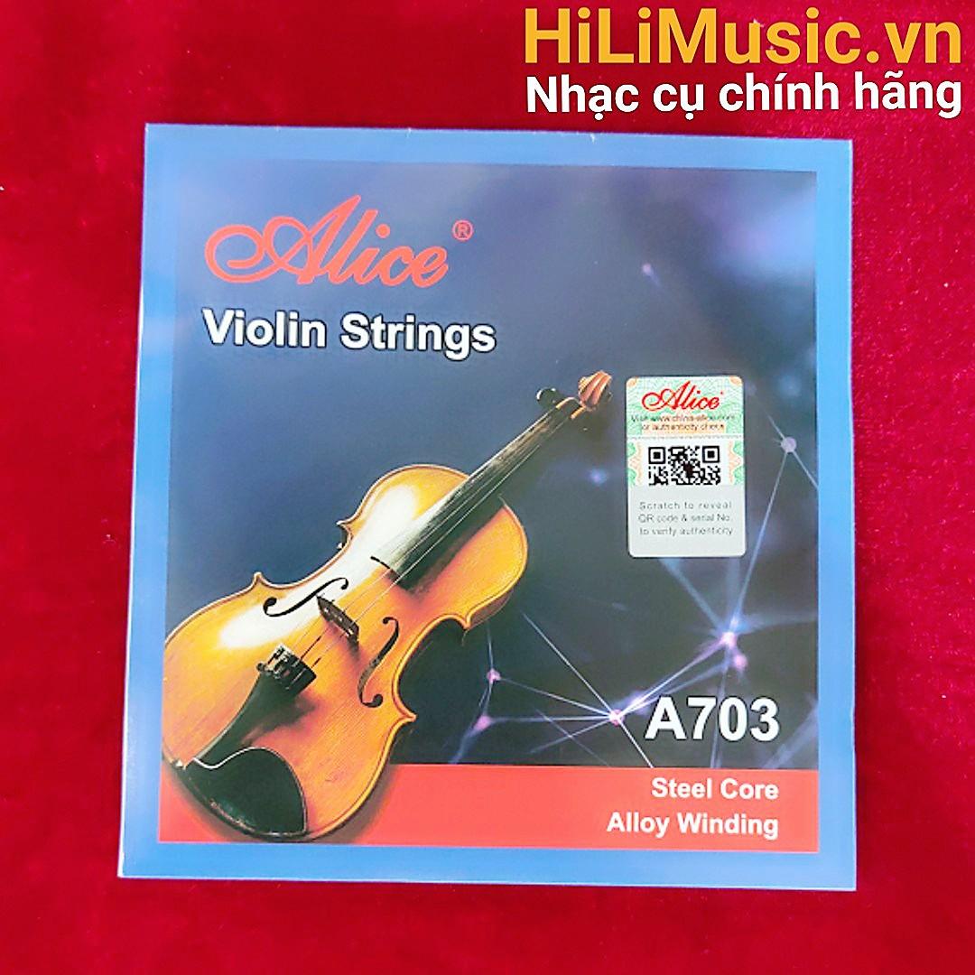 Dây Violin Alice A703 Steel Core, Alloy Winding