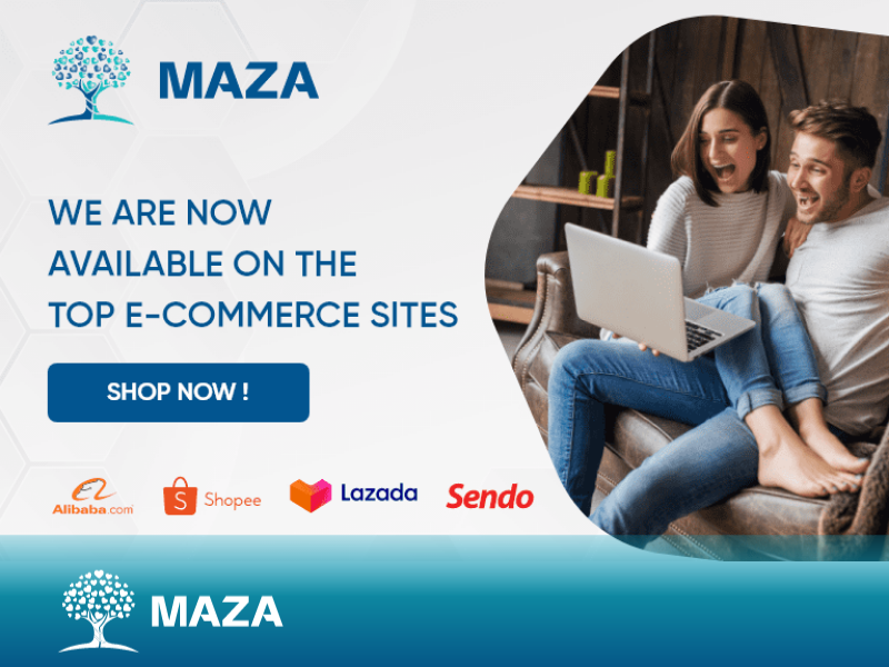 WE ARE NOW AVAILABLE ON THE TOP E-COMMERCE SITES