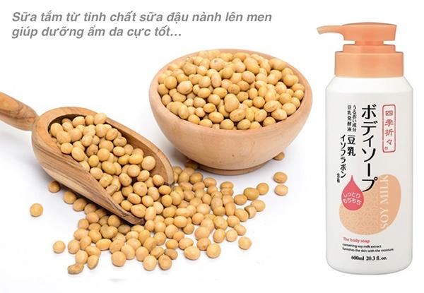 Sữa Tắm Đậu Nành Soy Milk 600ml Nhật Bản #suatam#daunanh#duongtrang | Thảo  - Shop hàng nhật | Shop Japan VN
