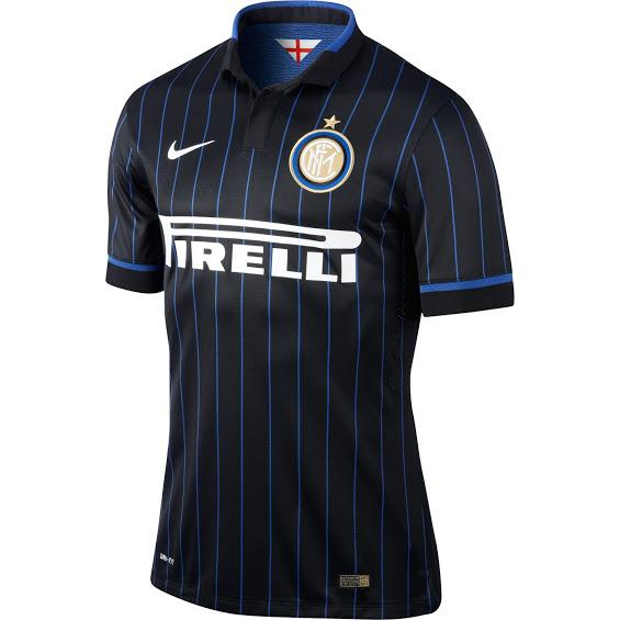 Quần áo bóng đá Inter Milan 2014-2015 sân nhà