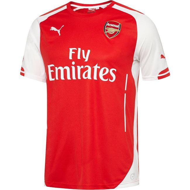 Quần áo Arsenal Sân nhà 2014- 2015
