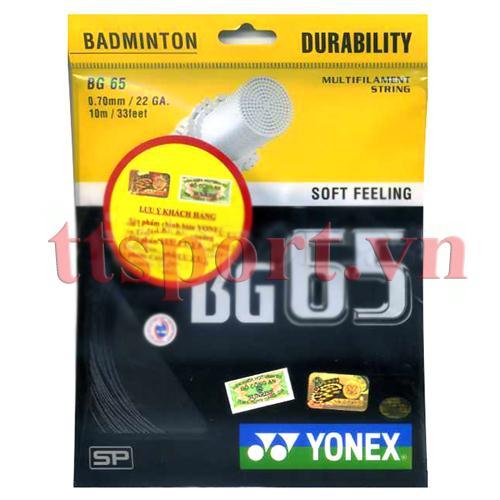 Dây căng vợt cầu lông BG 65