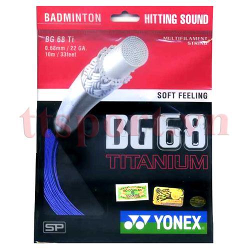 Dây căng vợt cầu lông BG 68 Ti