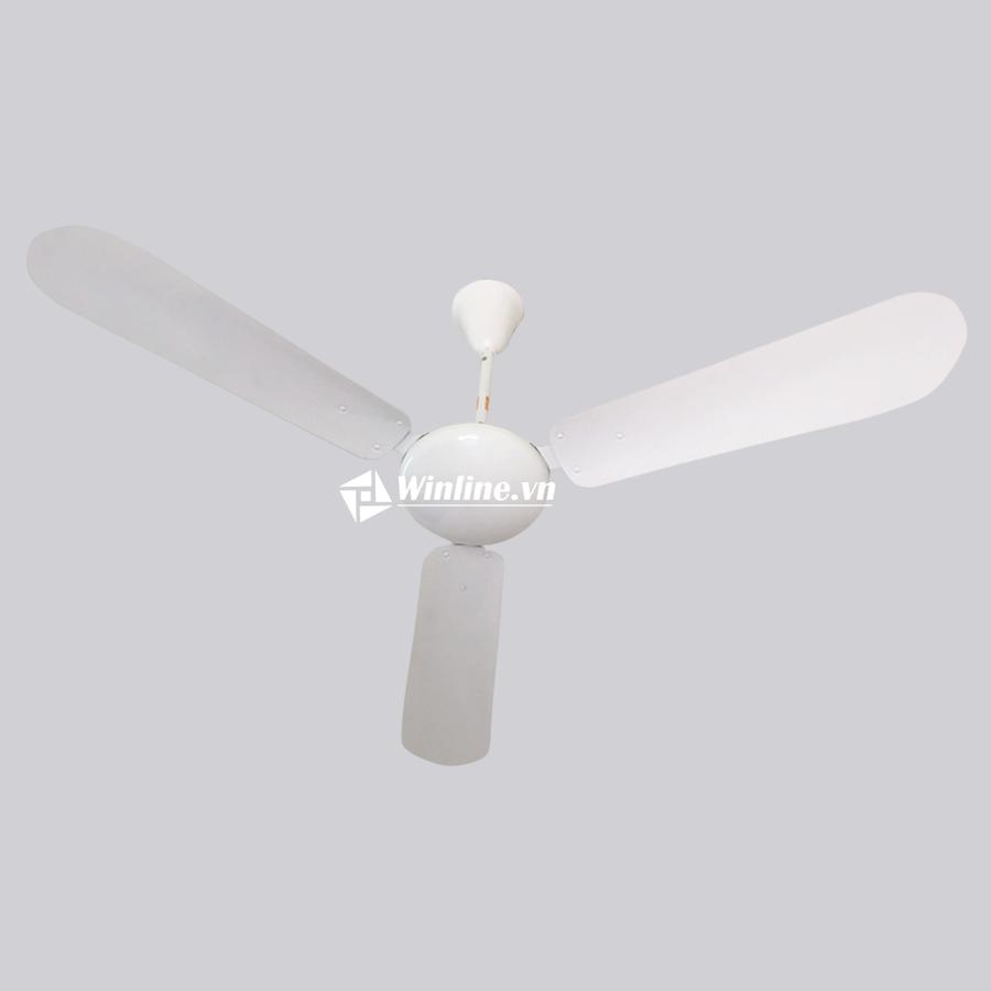 Quạt trần Vinawind QT-1400S cánh sắt, màu trắng