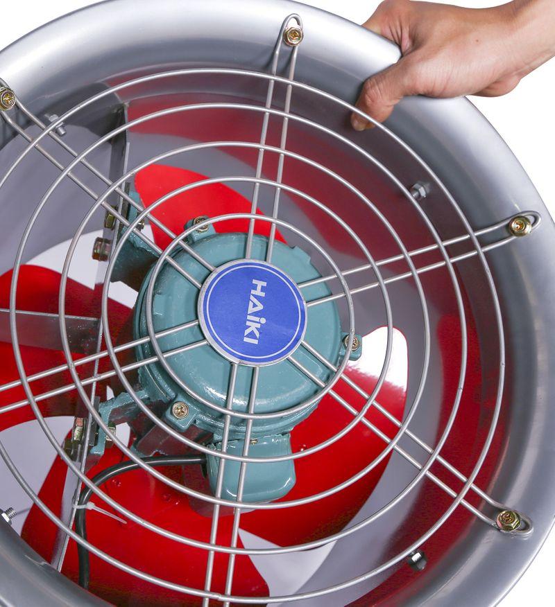 Quạt thông gió công nghiệp công suất cao HAIKI HKS-60Gdễ dàng sử dụng