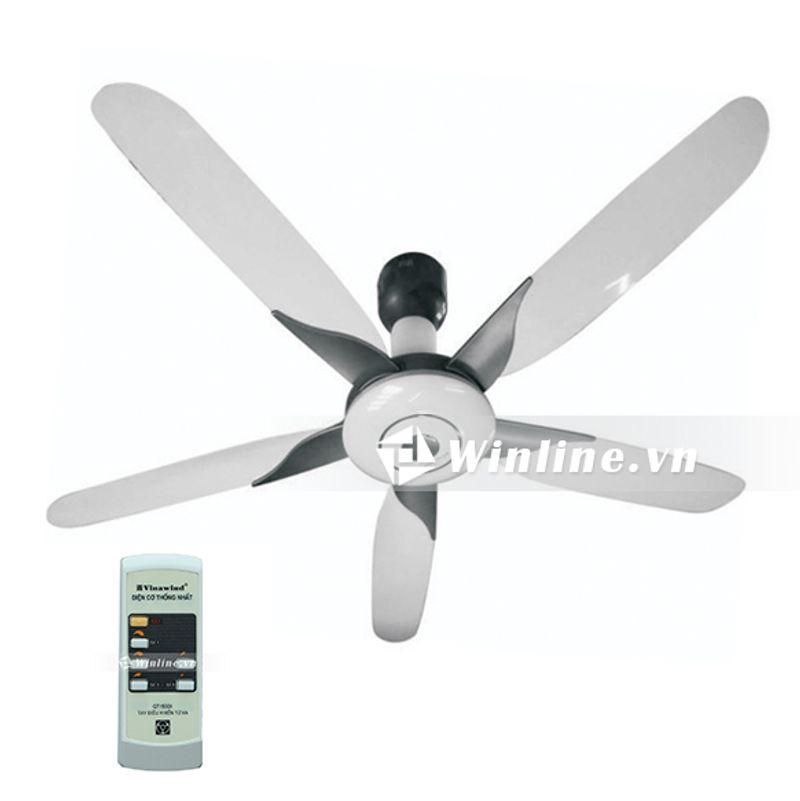 Quạt trần điện cơ thống nhất Vinawind QT 1500X thiết kế hiện đại sang trọng
