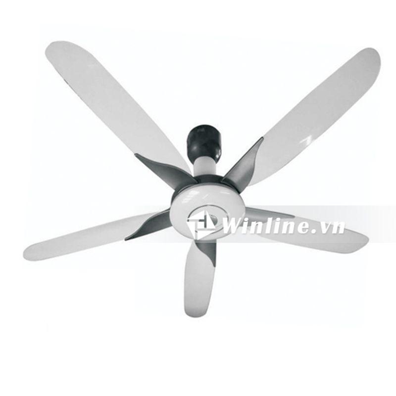 Quạt trần Vinawind QT-1500X 5 cánh, điều khiển từ xa