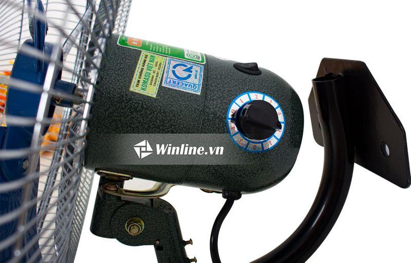 Quạt treo tường công nghiệp Komasu KM-450 IN I Sải cánh 45cm I Công suất 100W