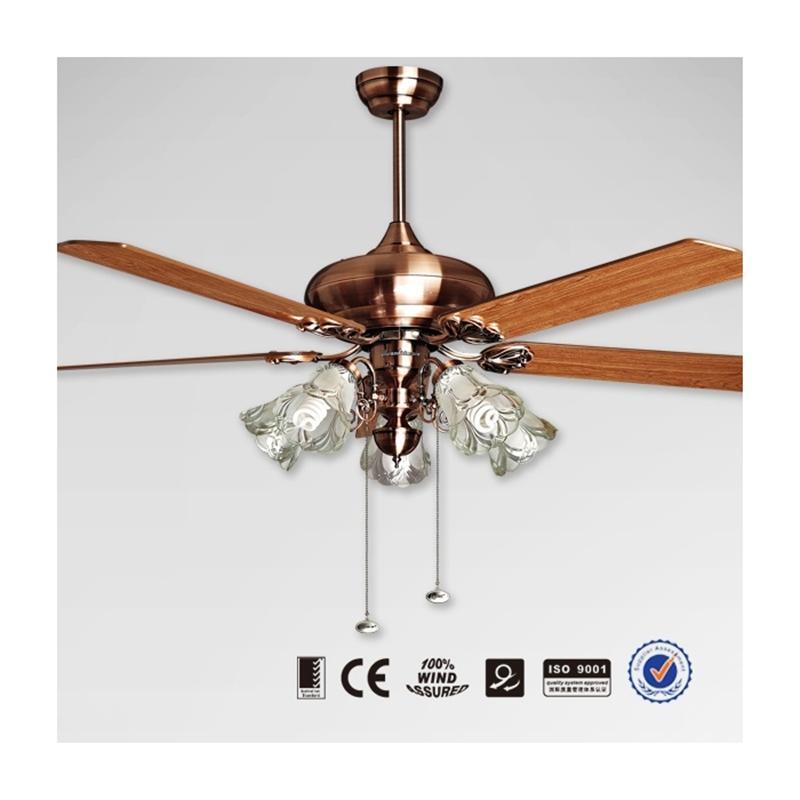 Quạt trần đèn Mountain Air cánh gỗ 2826