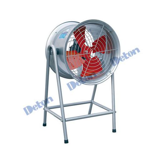 Quạt thông gió công nghiệp Deton DFG6G-4 điện áp 380V-2,2 KW sải cánh 60cm, có chân