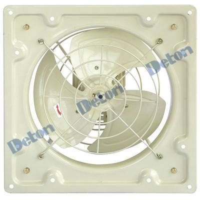 Quạt thông gió Deton vuông LAD35-4 điện áp 220V/380V I Sải cánh 35cm