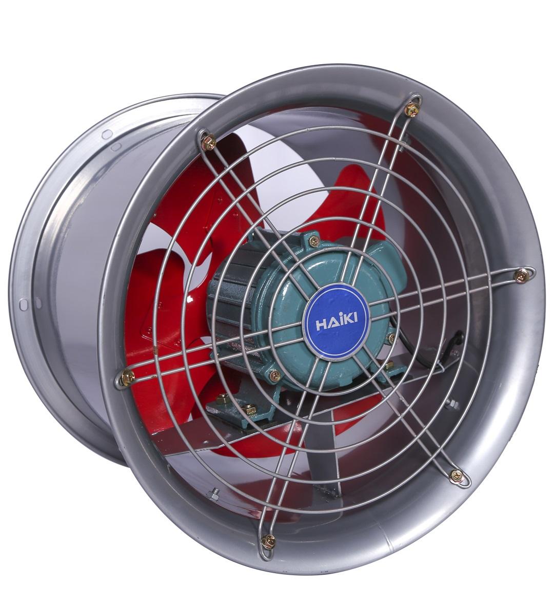 Quạt thông gió công nghiệp HAIKI HKS-30G, Ø 30cm, 380V công suất 120W
