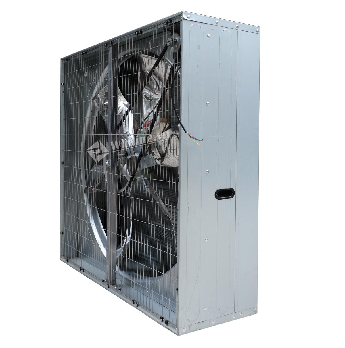 Quạt thông gió vuông SHRV 1380x1380x400 điện áp 380V