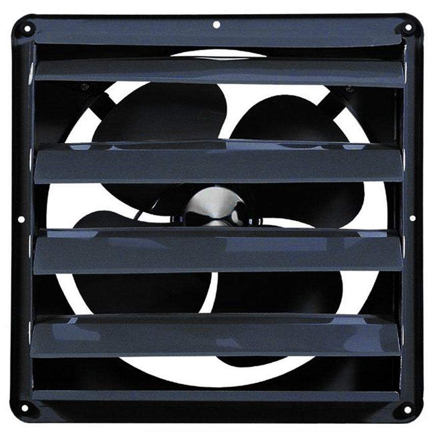 Quạt thông gió Deton vuông FB-35 cửa chớp - Sải cánh 35cm - Điện áp 220V