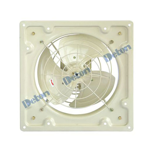 Quạt thông gió Deton vuông LAD40-4 điện áp 220V/380V I Sải cánh 40cm