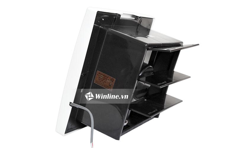 Quạt thông gió gắn tường Vinawind QTG-250PN (1 chiều)