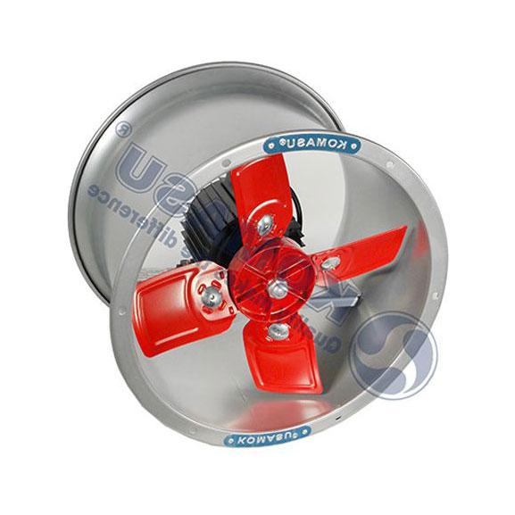 Quạt thông gió công nghiệp Komasu tròn KM-35T I Sải cánh 34cm