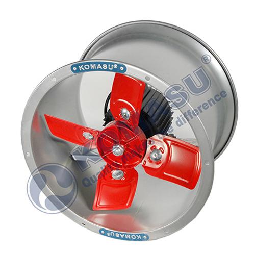 Quạt thông gió công nghiệp Komasu tròn KM-40T I Sải cánh 39cm