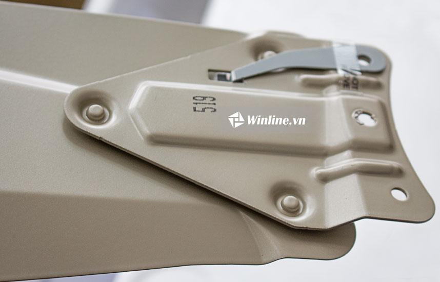 Quạt trần Panasonic 4 cánh F-56MPG, màu vàng, 3 tốc độ gió, điều khiển từ xa