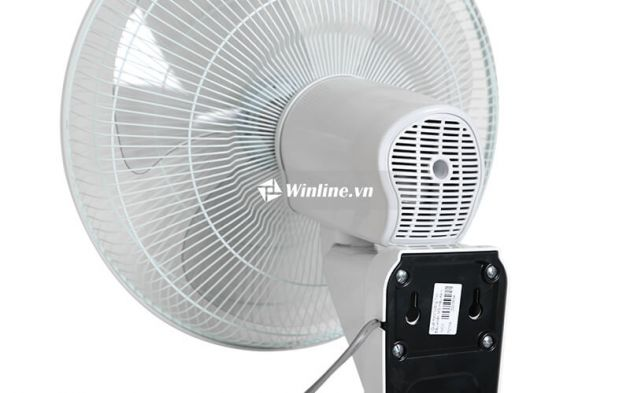 Quạt treo tường Tico điều khiển MS400 - Màu Kem