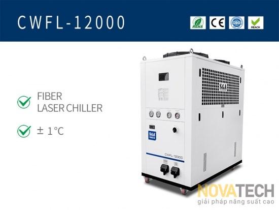 Chiller làm mát máy cắt laser fiber CWFL-12000