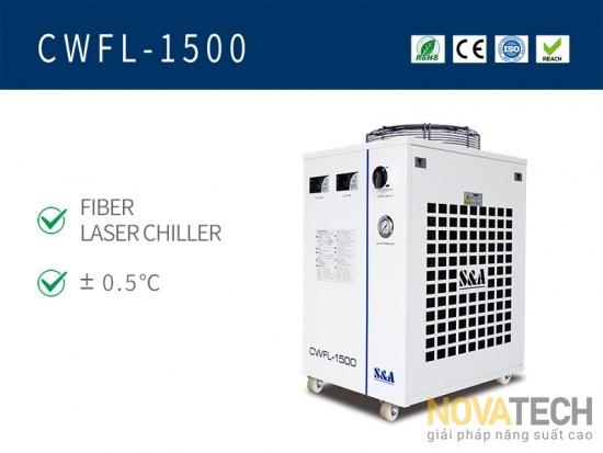 Chiller làm mát máy cắt laser fiber CWFL-1500