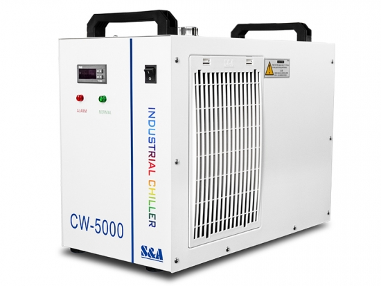 Chiller làm mát máy cắt khắc laser CO2 CW-5000
