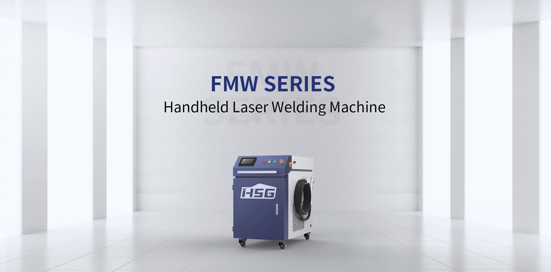 Máy hàn laser fiber HSG dòng FMV