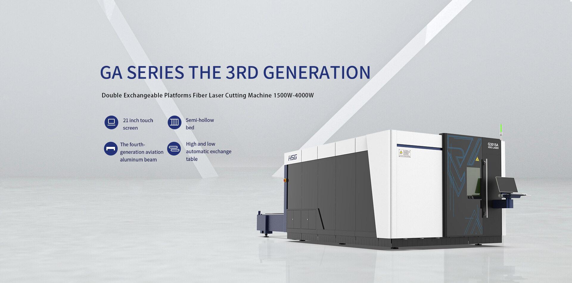 Máy cắt laser fiber HSG dòng GA