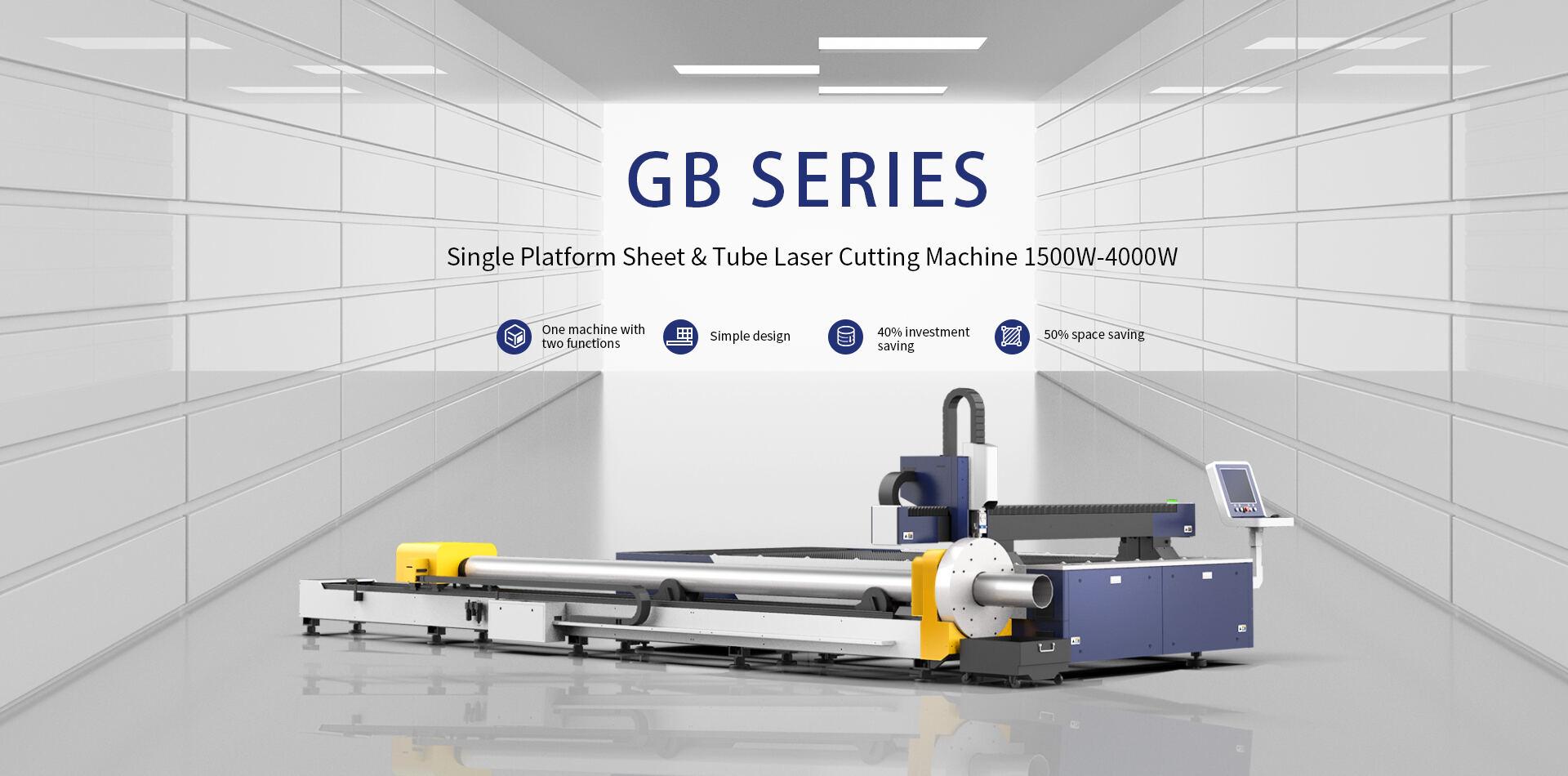 Máy cắt laser fiber HSG dòng GB