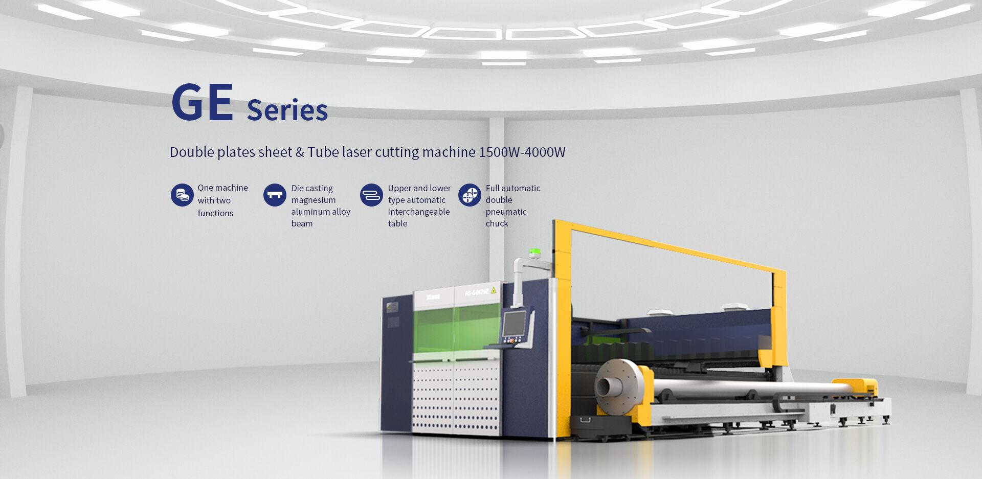 Máy cắt laser fiber HSD dòng GE