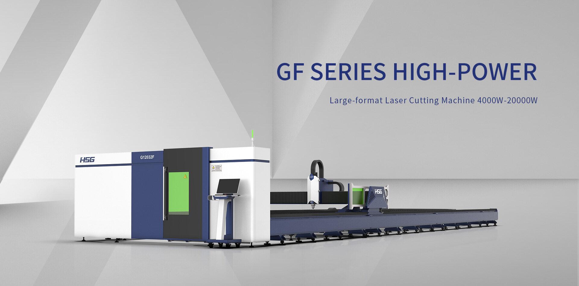 Máy cắt laser fiber HSG dòng GF
