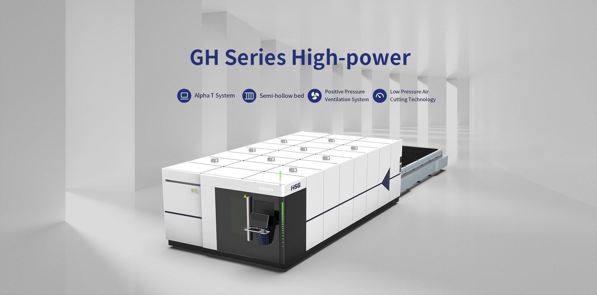 Máy cắt laser fiber HSG dòng GH