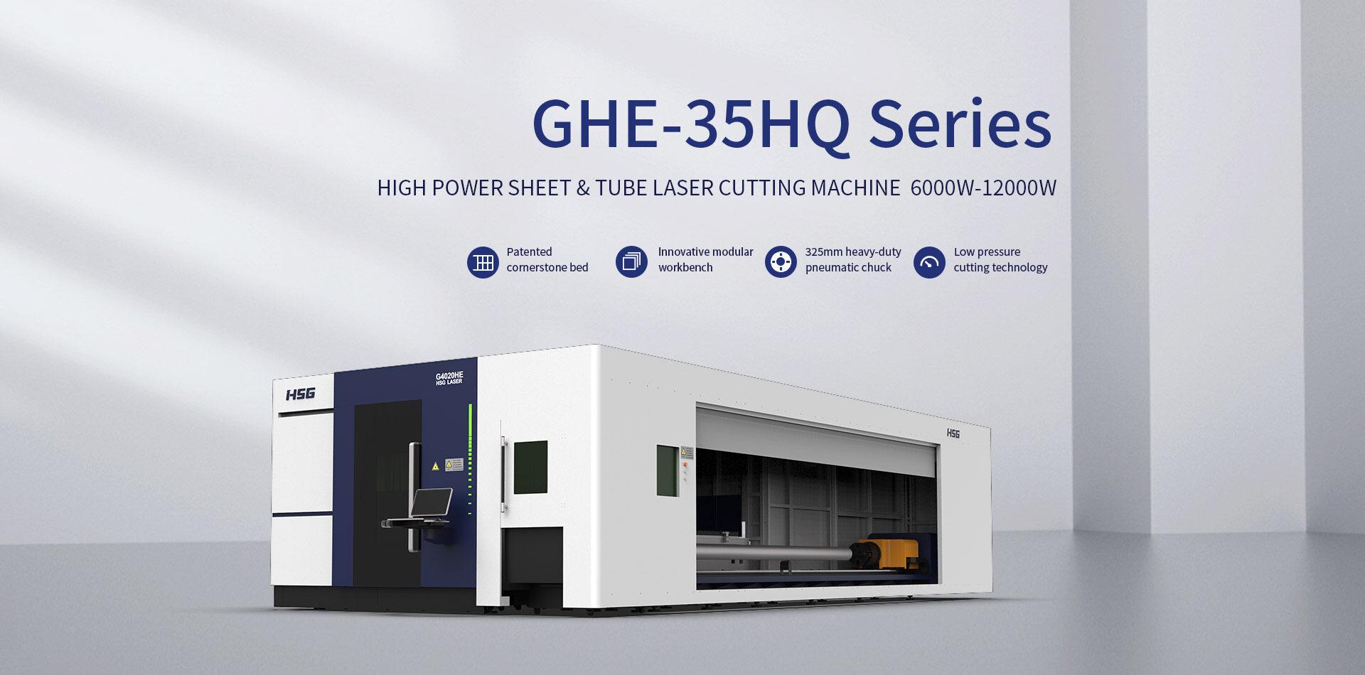 Máy cắt laser fiber HSG dòng GHE