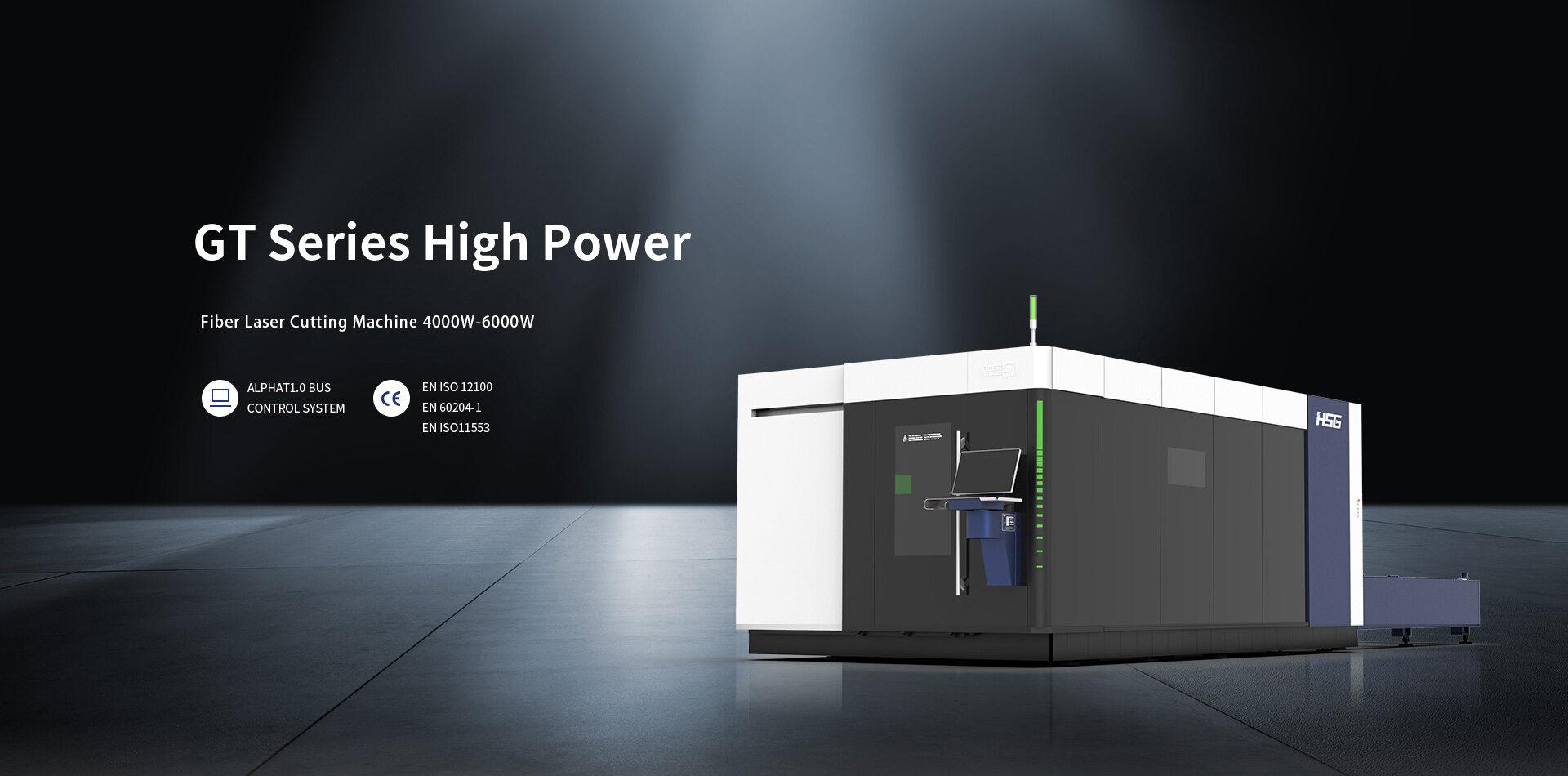Máy cắt laser fiber HSG dòng GT