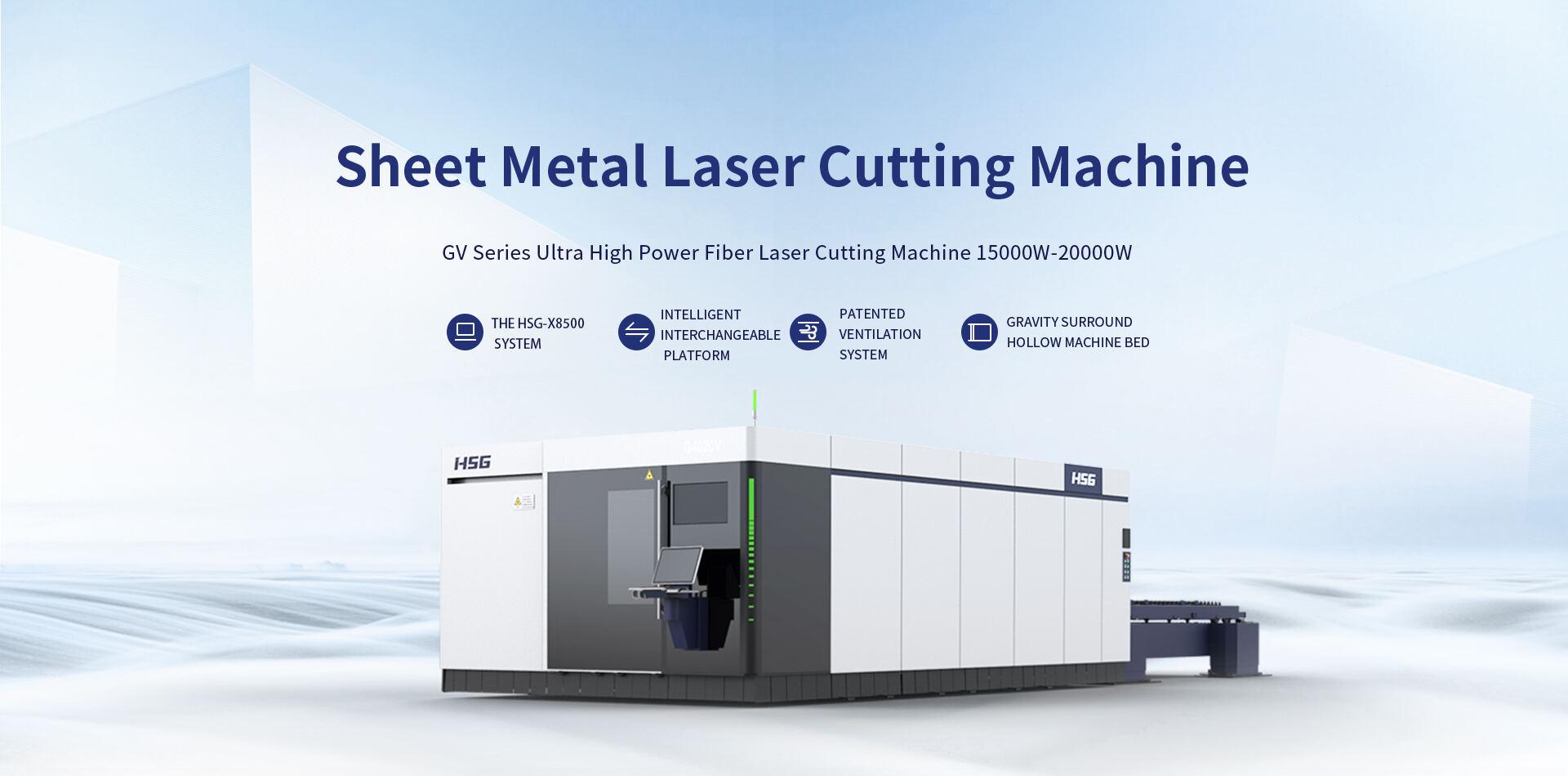 Máy cắt laser fiber HSG dòng GV
