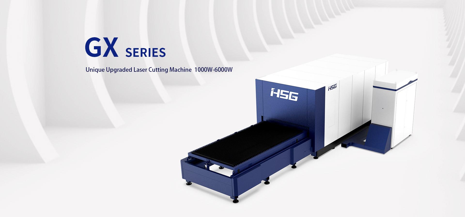 Máy cắt laser fiber HSG dòng GX