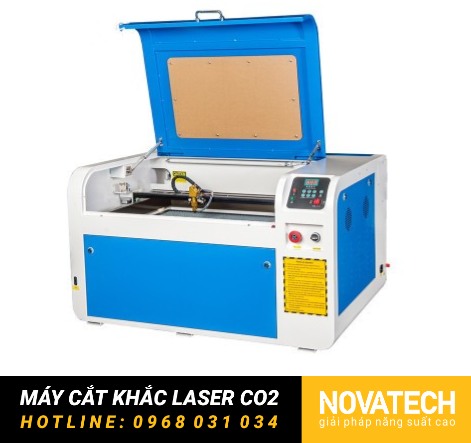 Máy cắt khắc laser CO2 4060 giá rẻ