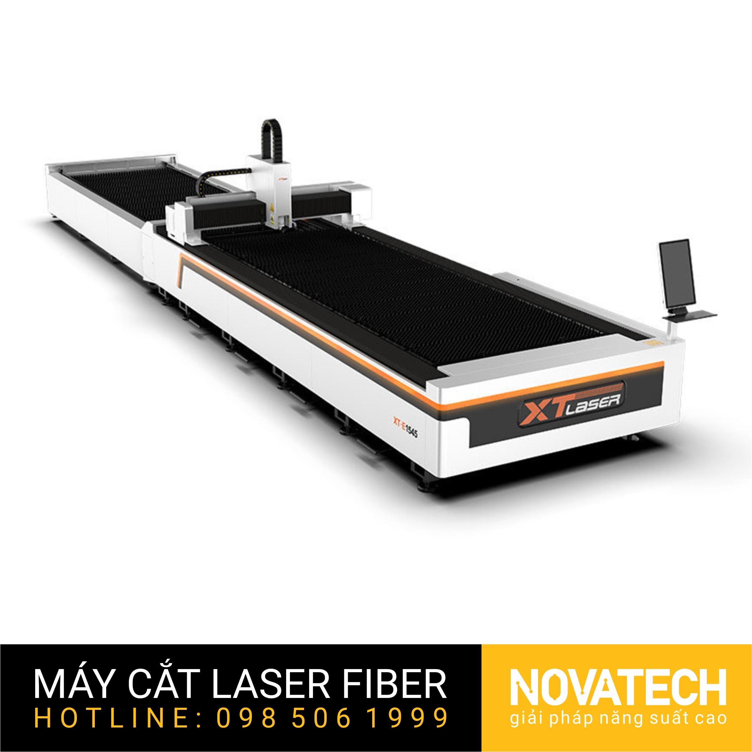 Máy cắt laser fiber bàn đôi XT-Laser E Series