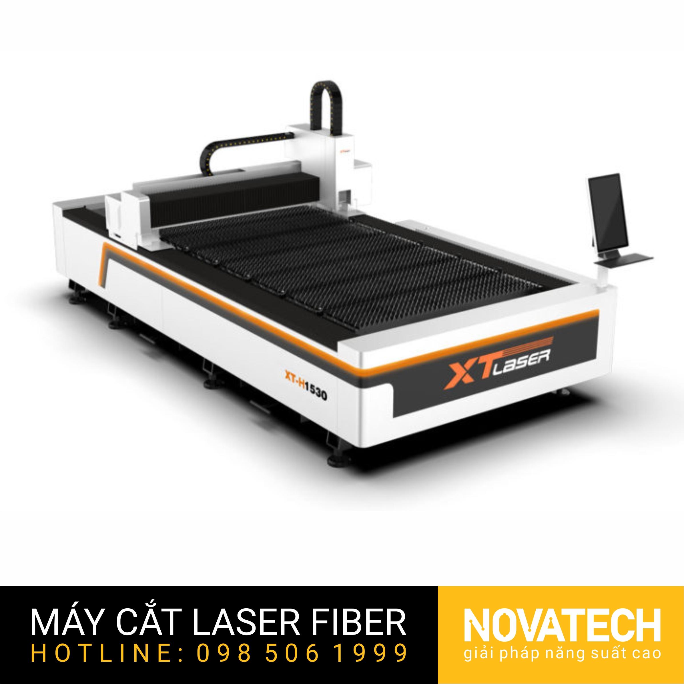 Máy cắt laser fiber bàn đơn XT-Laser H Series