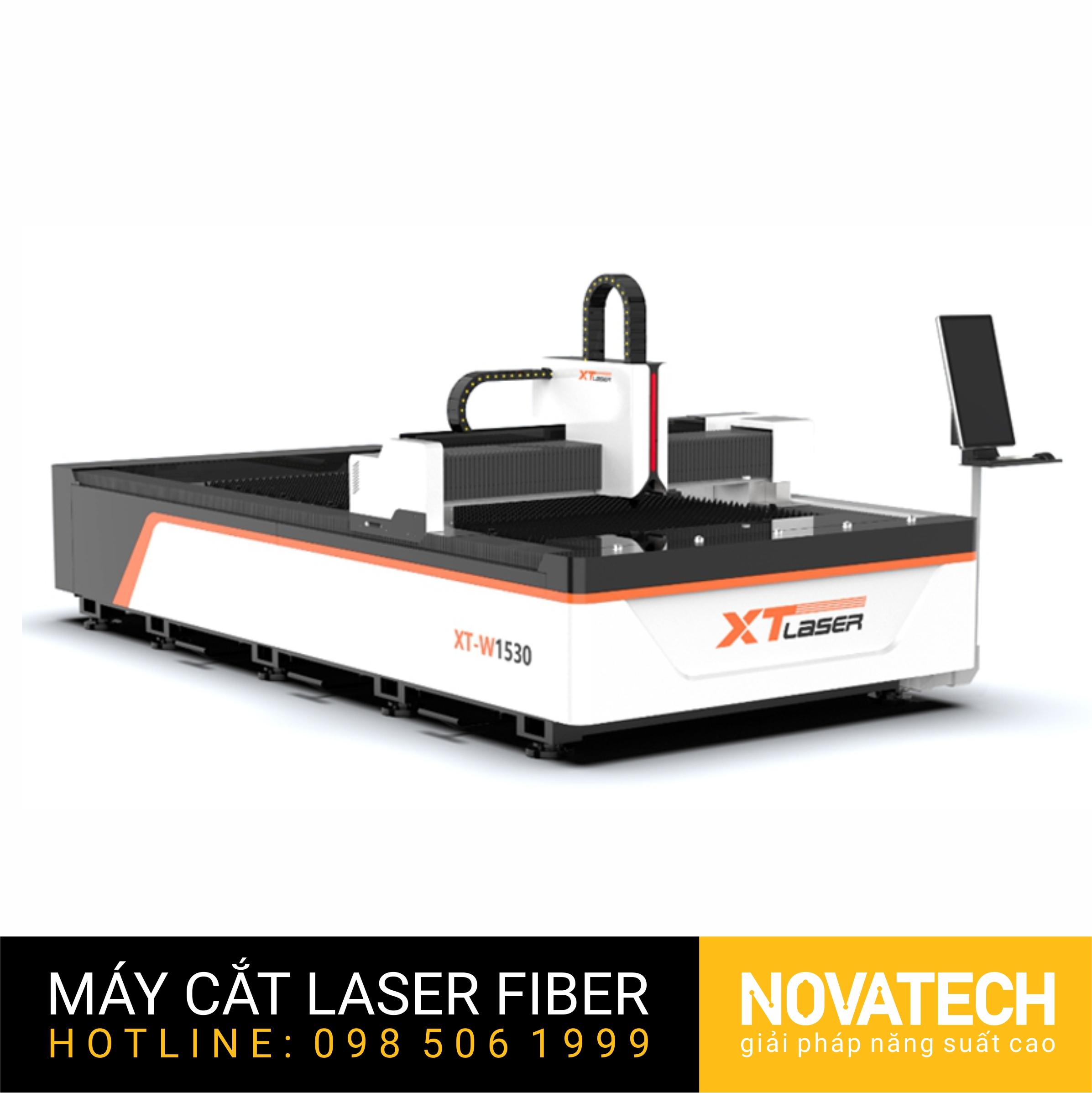 Máy cắt laser fiber bàn đơn XT-Laser W Series