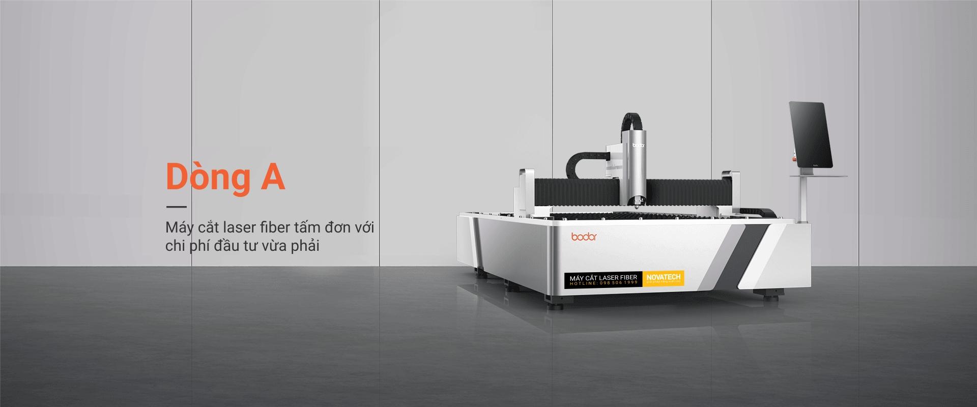 Máy cắt laser fiber bodor dòng A
